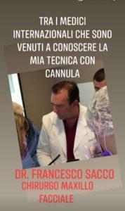 medicina estetica dr.francesco sacco chirurgo maxillo facciale